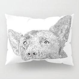 Mitzi takes it easy Pillow Sham