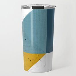 Modern Geometric 19 Travel Mug