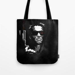 He'll Be Back Terminator Schwarzenegger Tote Bag