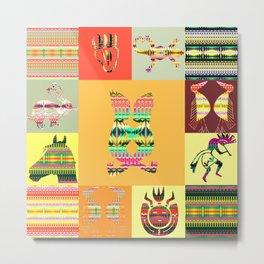Indian patchworks63 Metal Print