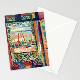 Henri Matisse Open Window at Collioure Stationery Cards