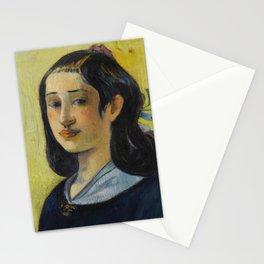 Paul Gauguin - Portrait de la mre de l'artiste Stationery Cards