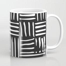 Weave in White Coffee Mug