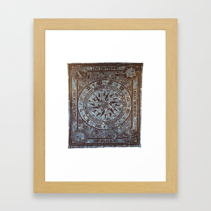 Stylish Indian Wall Hangings Tapestry Framed Art Print