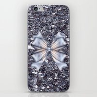 silver iPhone & iPod Skins featuring Silver by Elena Indolfi