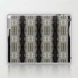 Oak Tree Bark Vertical Pattern by Debra Cortese Designs Laptop & iPad Skin