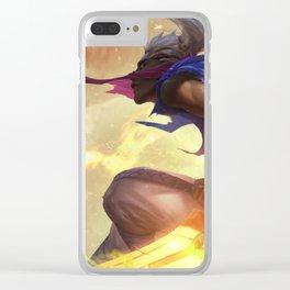 Sandstorm Ekko League of Legends Clear iPhone Case