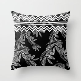 Plume 5 Throw Pillow