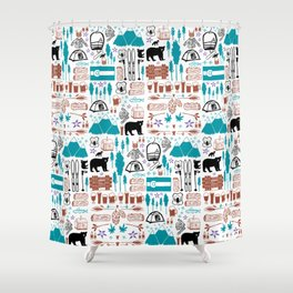Colorado 2 Shower Curtain