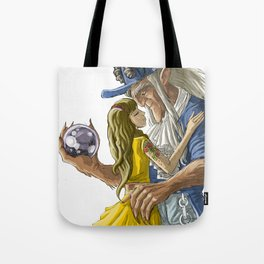 laberinto hip hop belle and the beast mash up Tote Bag