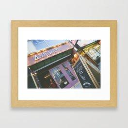 Wigwam Framed Art Print