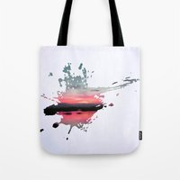 storm Tote Bags featuring Storm by Last Call