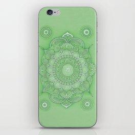 mandala Chakra Anahata iPhone Skin