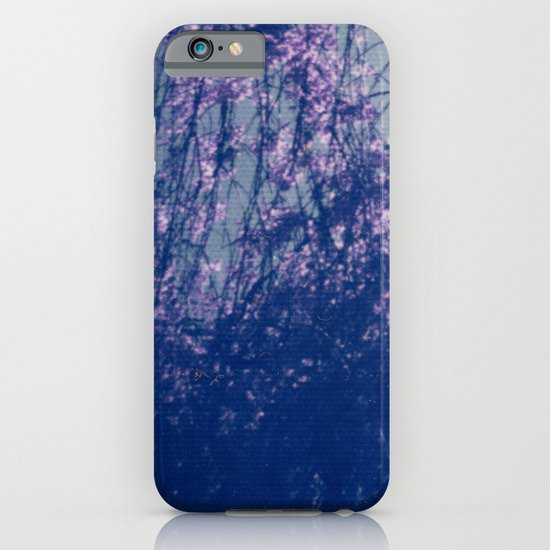 Cherry Blossom Blue iPhone & iPod Case