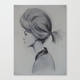 Gretta The Great Canvas Print