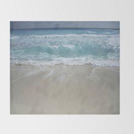 Carribean sea 5 Throw Blanket