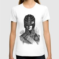wrestling T-shirts featuring WRESTLING MASK 6 by DIVIDUS
