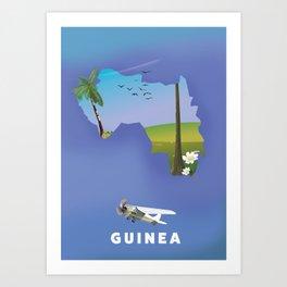 Guinea Art Print