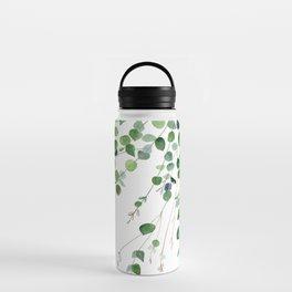 Eucalyptus Watercolor Water Bottle
