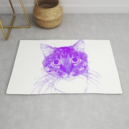 Jazz, drawing, purple Rug
