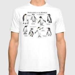 Penguins of the World T-shirt