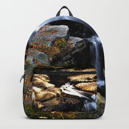 Autumn Waterfall Photography Backpack