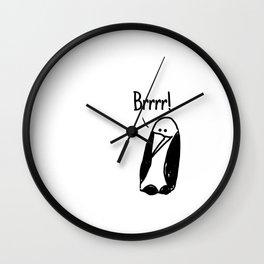 Brrrr! Wall Clock