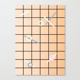 Geometric Calendar - Day 7 Canvas Print
