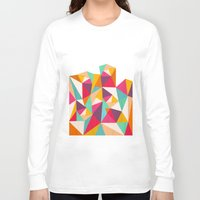 diamond Long Sleeve T-shirts featuring Diamond by Kakel