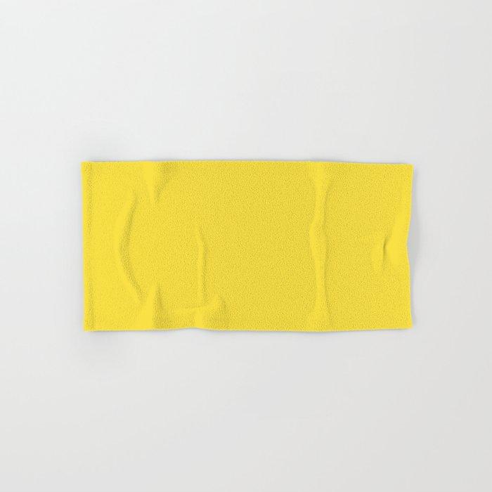 Daffodil (Yellow) Color Hand & Bath Towel