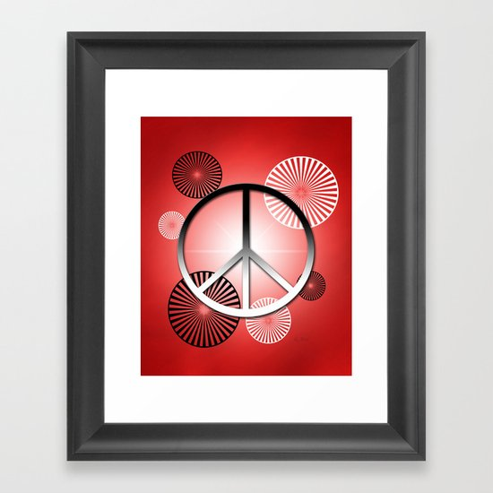 Let it Begin with Me II Framed Art Print