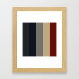 Color Palette - Modern Framed Art Print