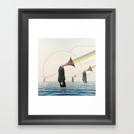 Listen To Me Framed Art Print