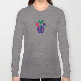 Fruit: Blackberry Long Sleeve T-shirt