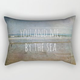 You and me, by the sea Rectangular Pillow