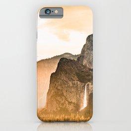 Yosemite Valley Burn - Sunrise iPhone Case