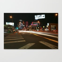 Sunset Blvd LA Canvas Print