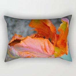 Parrot Tulip by Teresa Thompson Rectangular Pillow