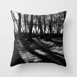 If You Go Down to the Woods Today... Throw Pillow
