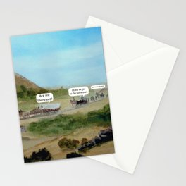 Travels with Kids Oregon Trail Theme Stationery Cards