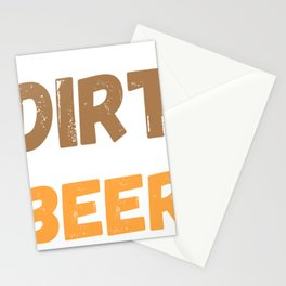 I Don't Mind Dirt In My Beer ATV Mudding 4 Wheeling Off Road Stationery Cards