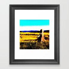 Be Free Part One Framed Art Print
