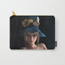 Nude Steampunk girl Carry-All Pouch