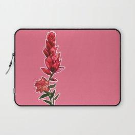 Illustrated Indian Paint Brush Laptop Sleeve