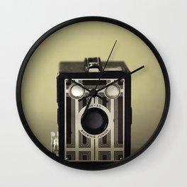 Six 20 Camera Wall Clock