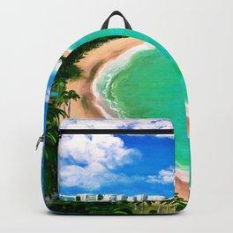 Isla Verde, San Juan, Carolina, Puerto Rico Backpack