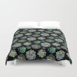 Succulents Duvet Cover