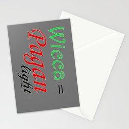 pagan light Stationery Cards
