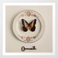 butterfly #5 Art Print