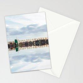 Traditional Dutch windmills at Zaanse Schans, Amsterdam, Netherland Stationery Cards